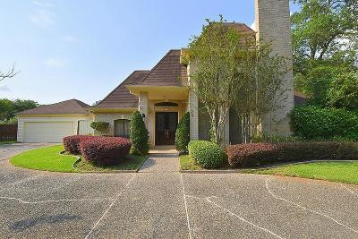 Houston Single Family Home For Sale: 831 Plainwood Drive