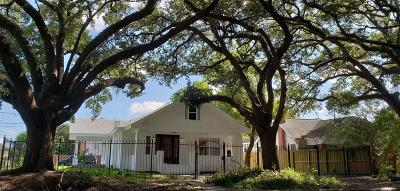Houston Single Family Home For Sale: 4301 Clay Street