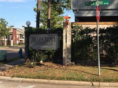 Houston Condo/Townhouse For Sale: 8265 Creekbend Drive #8265