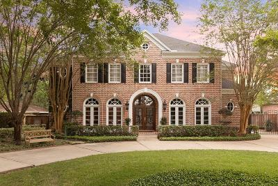 Bunker Hill Village Single Family Home For Sale: 11625 Green Oaks Street