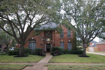 Katy Single Family Home For Sale: 3507 S Lake Village Drive