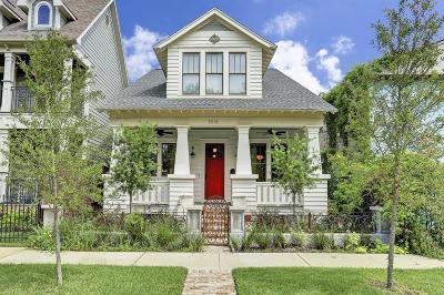 Houston Heights, Houston Heights Annex, Houston Heights, Timbergrove Single Family Home For Sale: 1016 Rutland Street