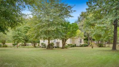 Conroe Farm & Ranch For Sale: 12529 Crockett Martin Road