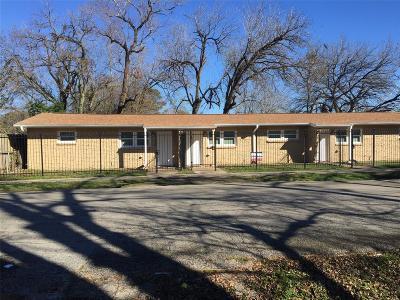 Houston Multi Family Home For Sale: 4031 Ward Street