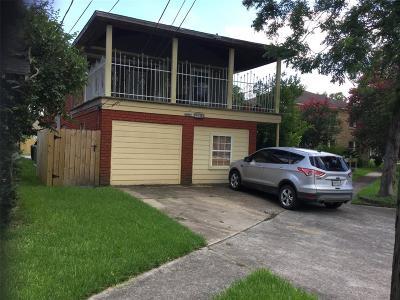 Houston Multi Family Home For Sale: 7126 Vandeman Street