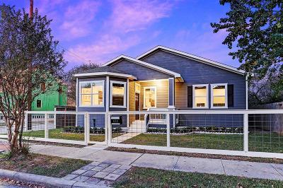 Houston Single Family Home For Sale: 1112 Walton Street