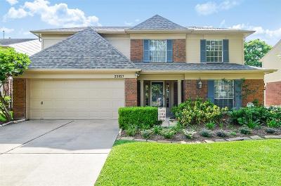 Katy Single Family Home For Sale: 23027 Indian Ridge Drive