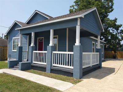 Houston Single Family Home For Sale: 6909 Avenue E