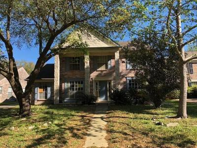 Houston Single Family Home For Sale: 16314 Hickory Point Road