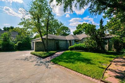 Houston Single Family Home For Sale: 565 Rancho Bauer Drive