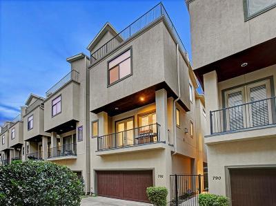 Houston Single Family Home For Sale: 792 Nicholson Street