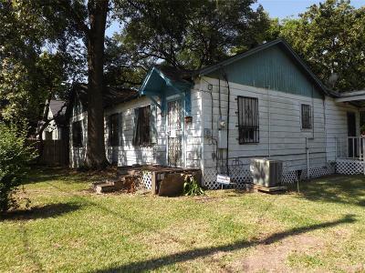 Houston Single Family Home For Sale: 9109 Allwood Street