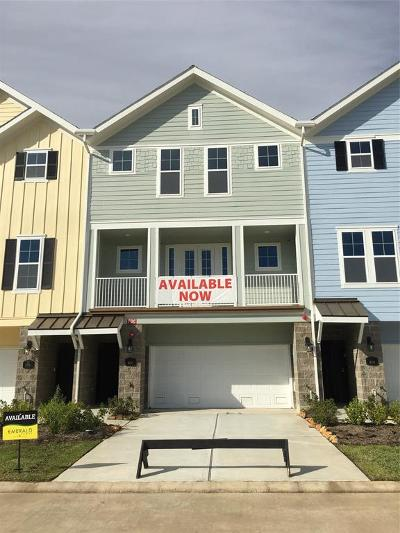 League City Condo/Townhouse For Sale: 2717 Veranda Valley