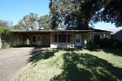 Houston Single Family Home For Sale: 6530 Westview Drive