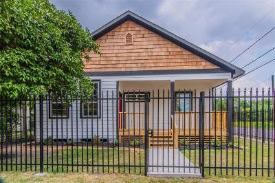 Houston Single Family Home For Sale: 2720 Briley Street