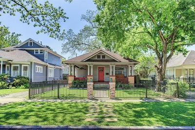 Houston Single Family Home For Sale: 1637 Cortlandt Street