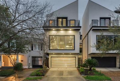 Houston Condo/Townhouse For Sale: 1238 W Pierce