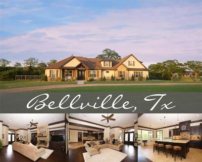 Bellville Single Family Home For Sale: 8205 Jared Road