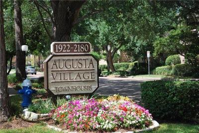 Houston Condo/Townhouse For Sale: 1998 Augusta Drive