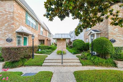 Houston Condo/Townhouse For Sale: 2226 S Piney Point Road #103