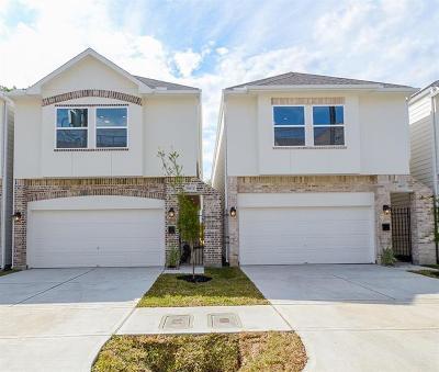 Houston Single Family Home For Sale: 5846 Kansas