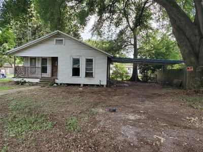Single Family Home For Sale: 2201 Maple Street