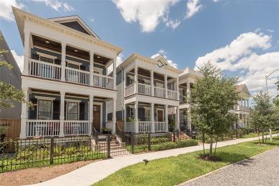 Houston Single Family Home For Sale: 724 Ashland