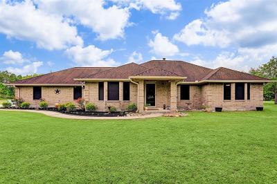 Texas City Single Family Home For Sale: 5701 Santo Park Road