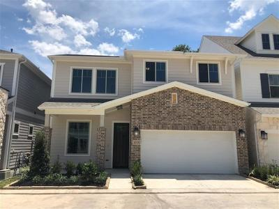 Houston Single Family Home For Sale: 8719 Axelwood Lane