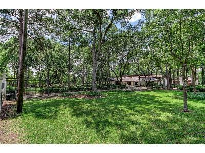 Houston Single Family Home For Sale: 58 Rollingwood Drive