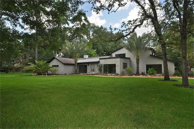 Kingwood Single Family Home For Sale: 1741 Palmetto Lane