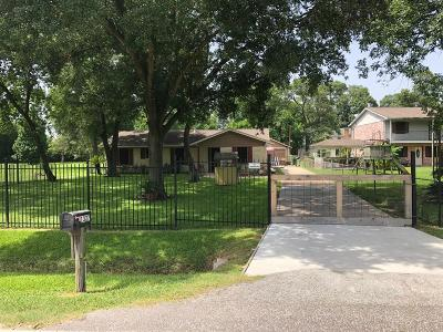 Houston TX Single Family Home For Sale: $89,900