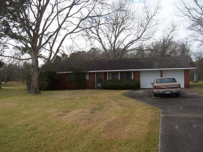 Crosby Single Family Home For Sale: 18523 Crosby Eastgate Road