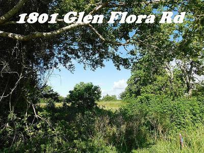 Eagle Lake Farm & Ranch For Sale: 1801 Glen Flora Road