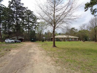 Magnolia Single Family Home For Sale: 36825 Fm 1774 Road
