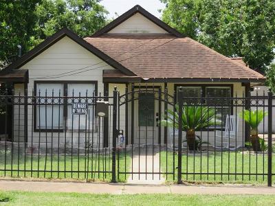 Houston Single Family Home For Sale: 5710 Dorbrandt Street