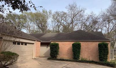 Houston Single Family Home For Sale: 4726 Hidden Springs Drive