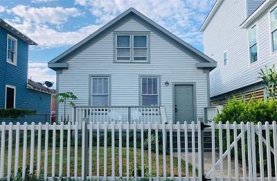 Galveston Single Family Home For Sale: 1821 Avenue O 1/2