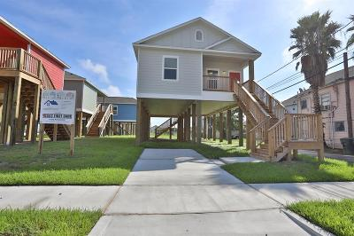 Galveston Single Family Home For Sale: 710 35th Street