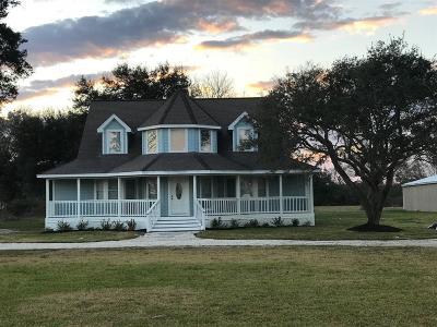 Alvin Single Family Home For Sale: 5416 Farmer Road