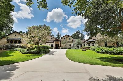 Tomball Single Family Home For Sale: 7 Huntington Woods Estates Dr
