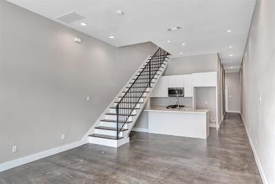Houston Condo/Townhouse For Sale: 915 Henderson Street