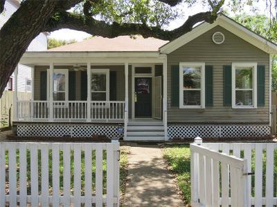 Galveston Single Family Home For Sale: 3017 Bernardo De Galvez