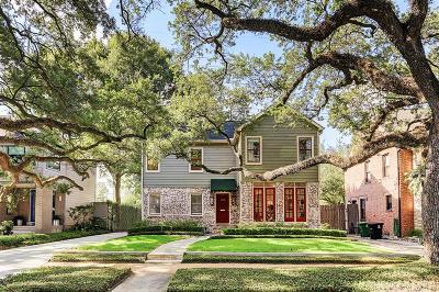 Houston Single Family Home For Sale: 1508 Vassar Street