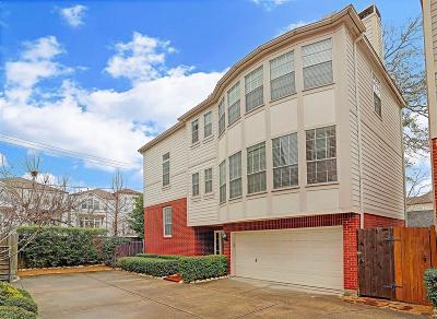 Houston Single Family Home For Sale: 4219 Gibson Street #B