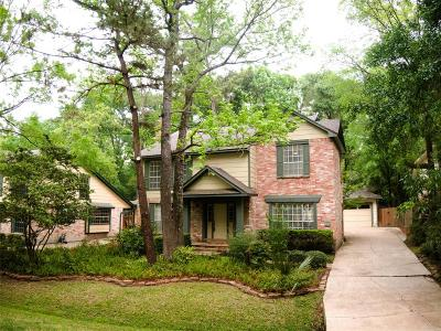 The Woodlands Single Family Home For Sale: 52 W Tallowberry Drive