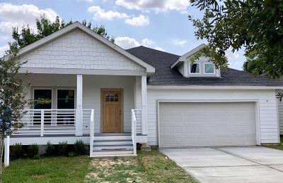 Houston Single Family Home For Sale: 1807 Chestnut Street