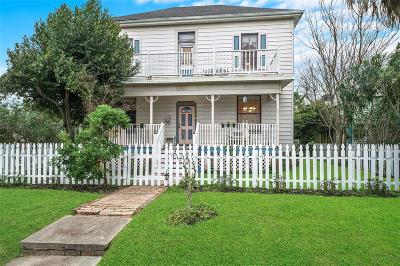 Galveston Single Family Home For Sale: 1001 Avenue K