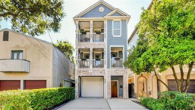 Houston Single Family Home For Sale: 829 Asbury Street
