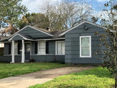 Bellaire Single Family Home For Sale: 4627 Valerie Street